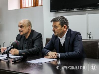 """Protocol FC Universitatea Cluj - CS Universitatea Cluj. Daniel Stanciu: """"Sportul românesc are nevoie de mult mai mult"""""""