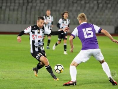 """Teren dezolant şi derby fără goluri. Sportul Snagov – """"U"""" Cluj 0-0."""