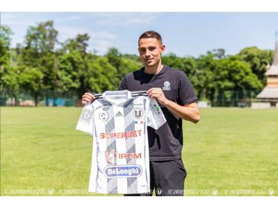 Andrei Blejdea este noul jucător al Universității Cluj