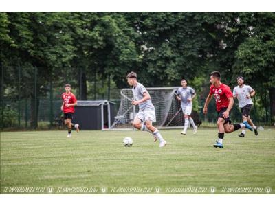 DECLARAȚII   Albert Hofman după un meci împotriva foștilor colegi de la U19