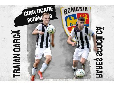 """ROMÂNIA U18. Rareș Scocîlcă și Traian Oargă vor reprezenta """"U"""" în dubla cu Bosnia"""