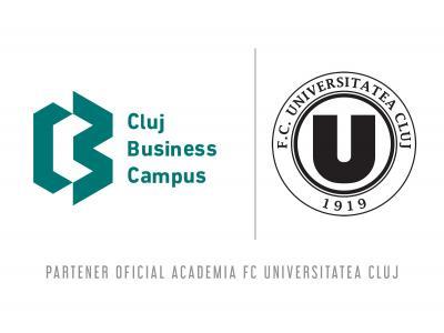 Parteneriat pentru viitor: Cluj Business Campus devine sponsor al Academiei FC Universitatea Cluj