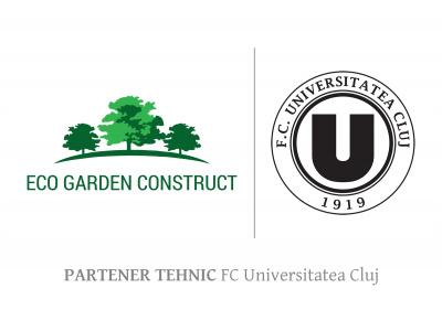 Eco Garden Construct, partener tehnic FC Universitatea Cluj
