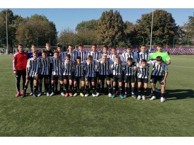 """Liga Elitelor U15. """"U"""" câștigă derby-ul cu CFR și termină faza locală pe primul loc"""