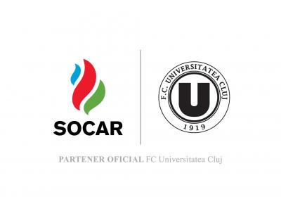 SOCAR devine sponsor oficial al FC Universitatea Cluj