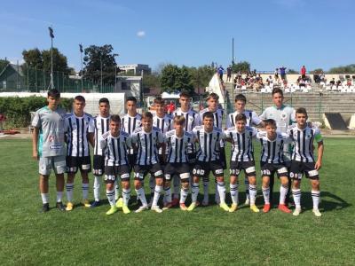 Liga Elitelor U17. Suntem lideri în clasamentul Serie de Vest