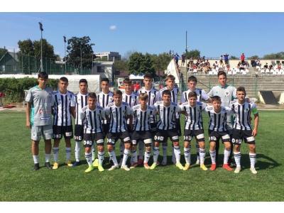 Liga Elitelor U17. Juniorii noștri au început sezonul cu o victorie