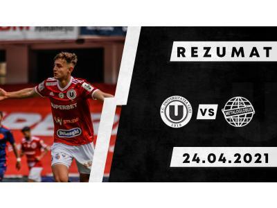 REZUMAT | FC Universitatea Cluj - Metaloglobus: 2-0