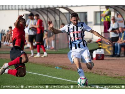 """Înfrângere la Miecurea Ciuc, după ce am condus la pauză. FK Csikszereda – """"U"""": 3 – 1"""