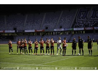 """Încheiem sezonul pe locul 2 în grupa din play-out. """"U"""" – ACSF Comuna Recea 2-3"""