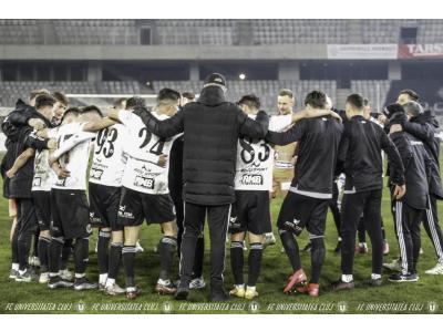 "Idan Golan, gol de trei puncte în minutul 94. ""U"" – CSM Slatina: 2-1"