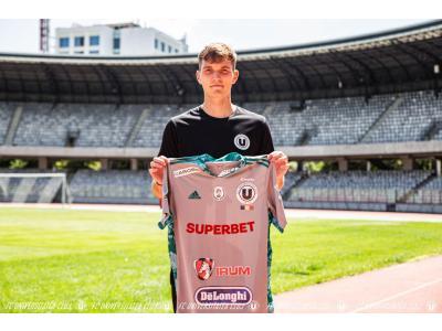 Goalkeeper-ul George Micle va îmbrăca tricoul Universității Cluj