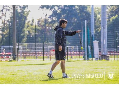 """Adrian Falub: """"Îmi doresc să cresc niște jucători care să fie formați de """"U"""" și care să construiască o echipă bună și peste cinci, șase ani de acum înainte"""""""