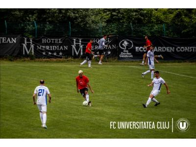"Joc-școală: ""U"" – CSM Avântul Reghin 2-1"