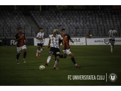 "Eșec la Miercurea Ciuc. AFK Csikszereda – ""U"": 2-1"