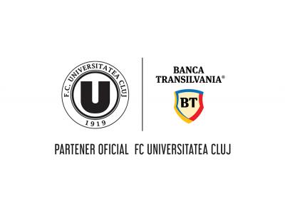Banca Transilvania continuă parteneriatul cu FC Universitatea Cluj