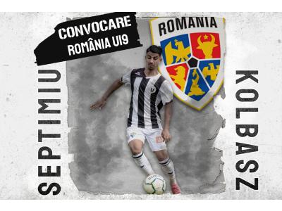 Convocare la naționala U18 a României pentru Septimiu Kolbasz
