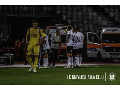 """Costel Enache, după primul meci pe banca lui """"U"""": """"Ce ați văzut în seara asta e doar o inspirație de a schimba doi, trei jucători, dar toată munca e a celor ce au fost înainte"""""""
