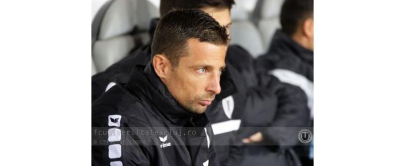 """Sânge alb-negru. Suller: """"U'' Cluj a fost, este și va fi echipa mea de suflet."""