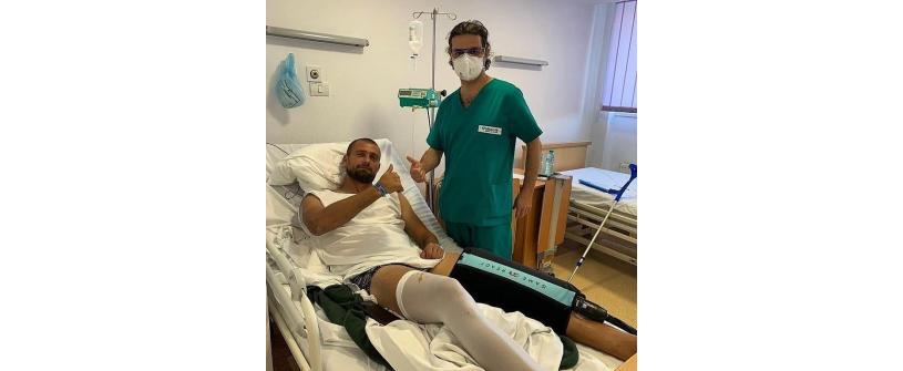 Gabi Tamaș s-a operat cu succes