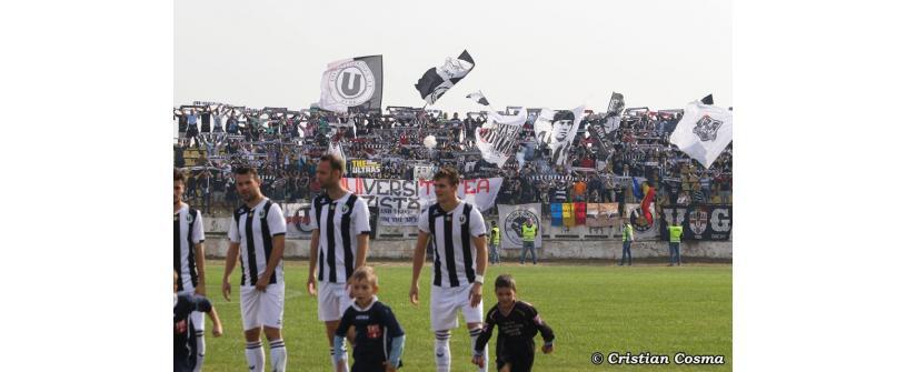 "Pas greșit la Turda. Sticla Arieșul – ""U"" Cluj 2-2"