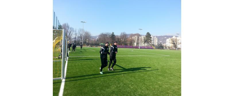 Goga și Păcurar s-au întors la antrenamentele Universității Cluj