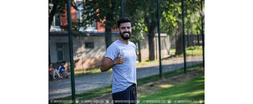 """Sergio Ribeiro va continua alături de """"U"""" și în următorul sezon"""