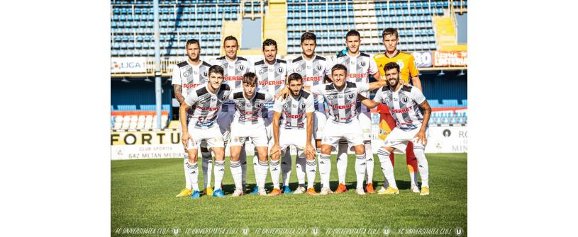 Victorie, scor 3-0, obținută la Mediaș