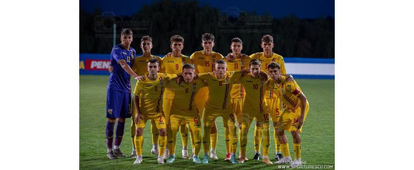 Matei Moraru și Alexandru Fărăgău, pe teren în dubla naționalei U17 cu Macedonia de Nord