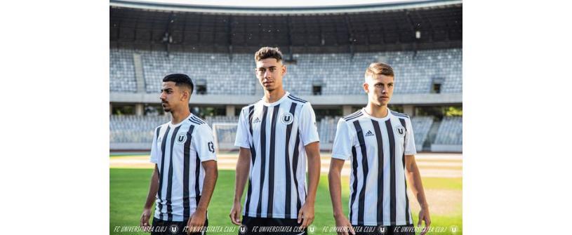 Sponsori noi și echipament Adidas pentru juniorii Universității