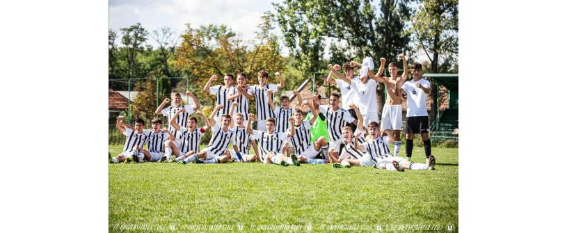 Liga Elitelor U16. Victorie de poveste în derby-ul cu CFR