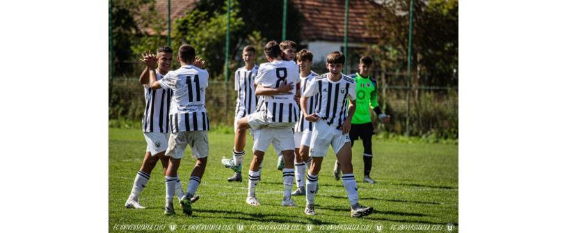 Weekend plin în Liga Elitelor. Derby-uri cu CFR la U17 și U19