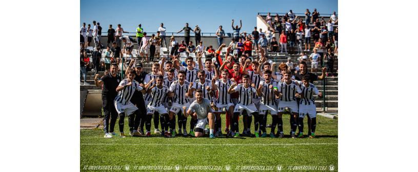 Liga Elitelor U19. Victorie la scor de neprezentare în derby-ul cu CFR