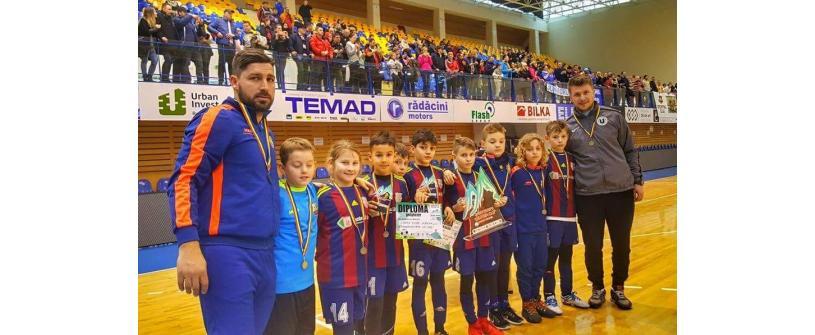 """Academia """"U"""" – Luceafărul a câștigat cel mai puternic turneu al iernii rezervat copiilor"""