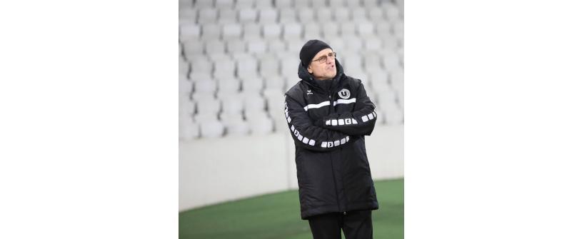 Mircea Cojocaru va conduce Universitatea în meciul cu ACS Poli!