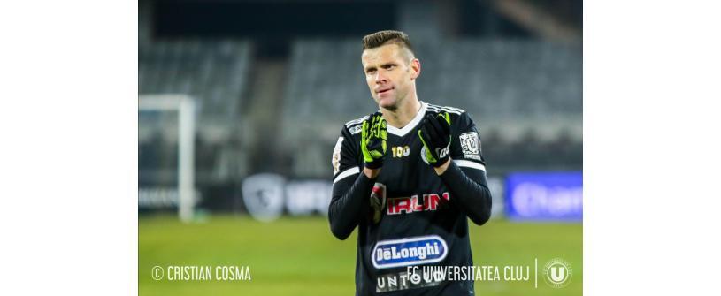"""Andrei Mureșan continuă alături de """"U"""" și în noul sezon"""