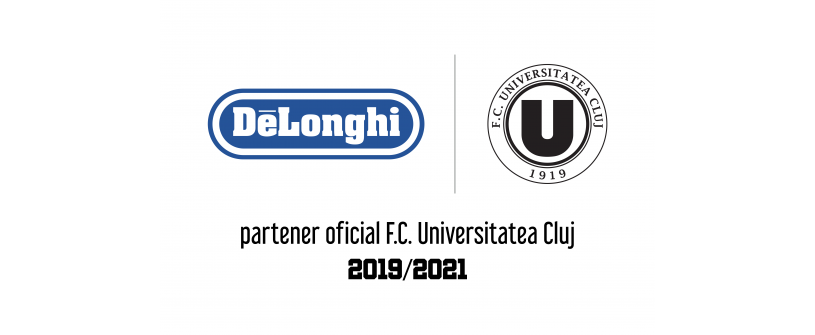 """Parteneriatul De'Longhi - """"U"""" Cluj continuă"""
