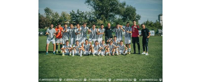 Liga Elitelor U17. Succes categoric cu 4-0 în duelul cu CFR