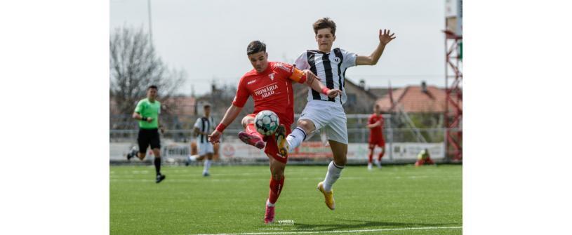 Liga Elitelor U19. Juniorii noștri au pierdut poziția a doua
