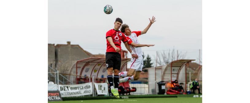 Liga Elitelor U17. Eșec drastic cu UTA Arad