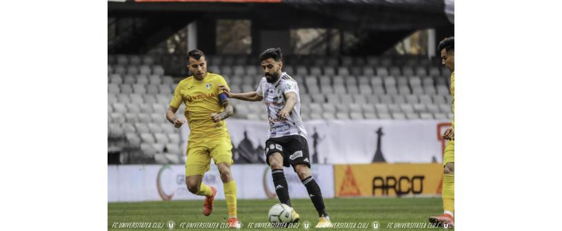 """Continuăm sezonul din Liga 2 în play-out. """"U"""" – Petrolul: 1 - 2"""