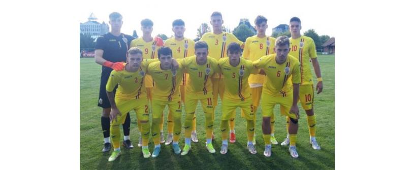 România U19. Albert Hofman, la primul gol sub tricolor