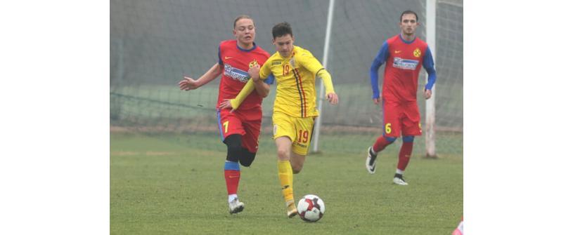 """Juniorii lui """"U"""", două jocuri de pregătire alături de România U16"""