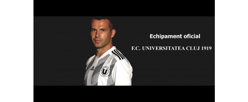 FC Universitatea Cluj lansează noul echipament principal de joc