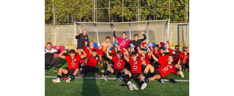 Liga Elitelor. Seria de cinci meciuri încheiată cu un succes de grupa U17