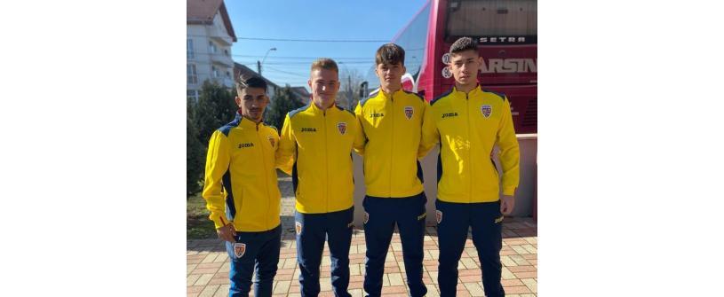 """Patru """"U""""-iști în lotul României U17 pentru jocul cu Ungaria"""