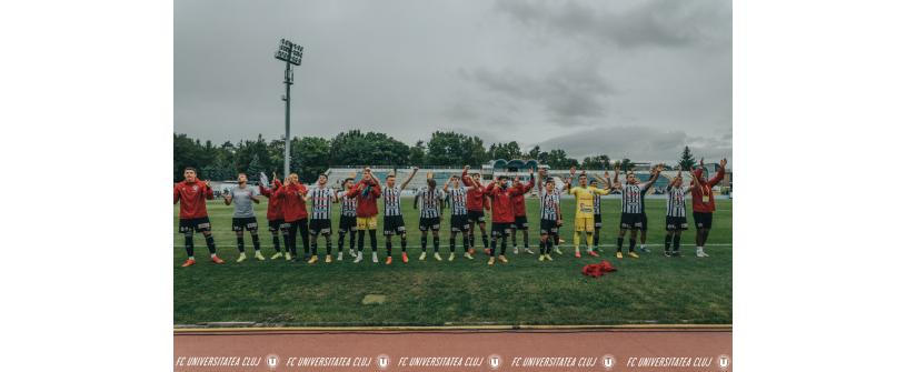 "Gol de trei puncte marcat de Boiciuc. ""U"" – Viitorul Pandurii Târgu Jiu: 1-0"