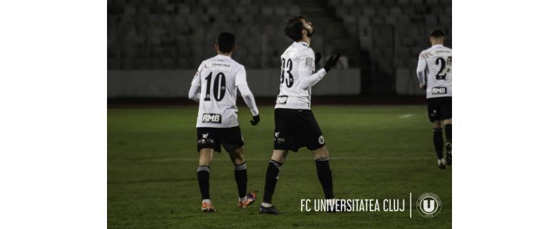 """Gavra și Ribeiro aduc o victorie mare în lupta pentru primele locuri. """"U"""" – Dunărea Călărași: 2-1"""