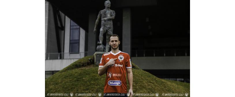 Iulian Anca-Trip va apăra culorile Universității în returul acestui sezon