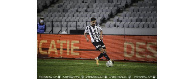 """Sergio Ribeiro, omul momentului la """"U"""": """"Sunt concentrat la un singur lucru când vine vorba de obiective, să promovăm"""""""